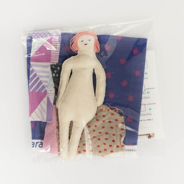 Muñeca de tela japonesa de amz Magic Stories